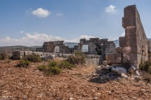 Granarium ruins Gelemis Turkey. Colour landscape. P.Maton 2014 eyeteeth.net