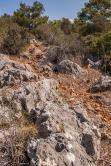 Rocky Footpath through bush, Patara Turkey. Colour Landscape. P.Maton 2014 eyeteeth.net